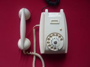 bakeliet wit telefoon