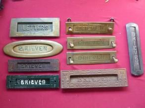brievenbus kleppen oud