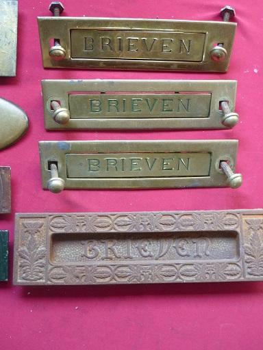 Hedendaags oude antieke authentieke brievenbus kleppen 2e hands 2e kans in TS-52