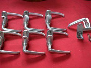 Aluminium gegoten deurklinken van het merk P+E.