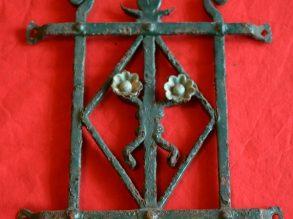 Antieke Art Deco stijl deurrooster nr: 3