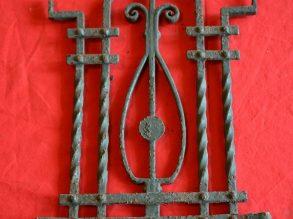 Antieke Art Deco stijl deurrooster nr: 5