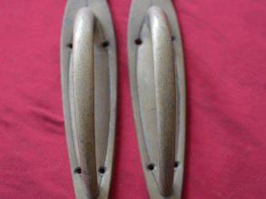 2 Koperen Art Deco handgrepen.
