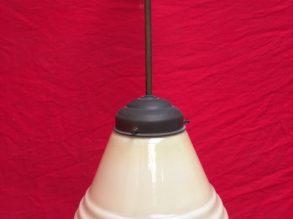 Jaren'30 schoollamp.