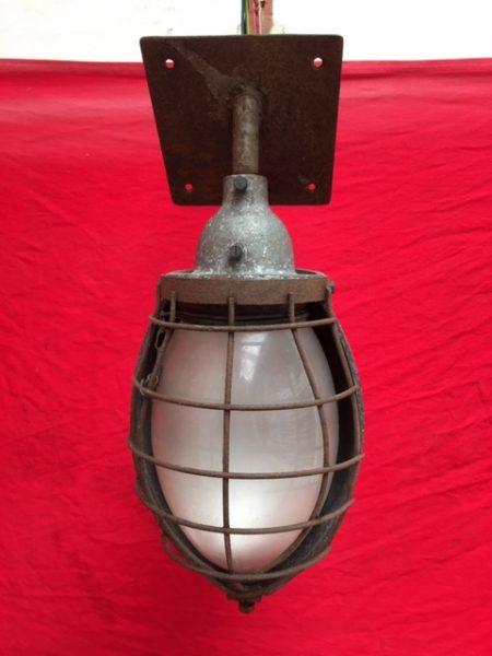 Unieke Jaren'30 Fabriekslamp.