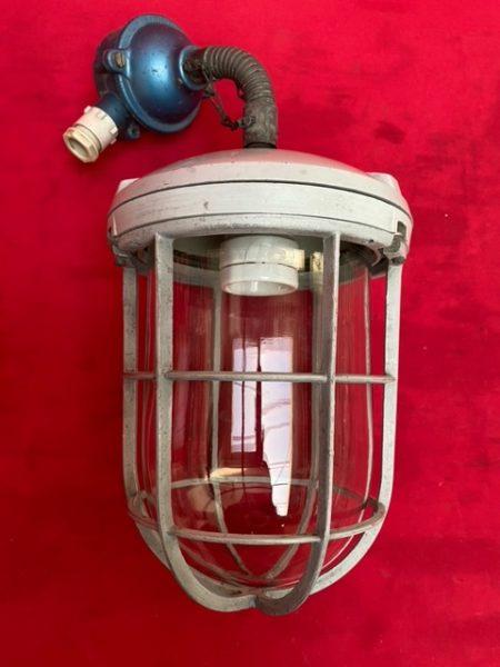 Industriële lamp.